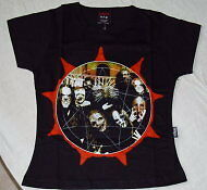 SLIPKNOT GIRLIE SHIRT Vol. 3 The Subliminal Verses NEUF