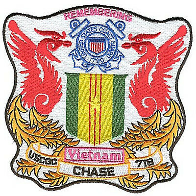 USCGC CHASE Vietnam legacy W4877 USCG Coast Guard patch