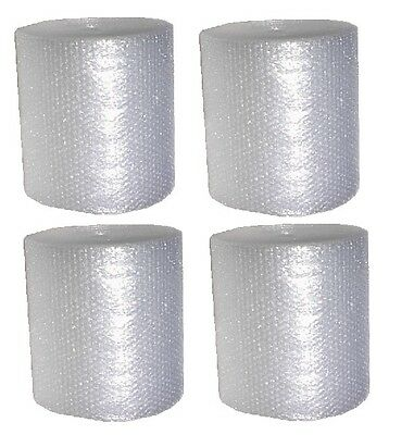 4 ROLLS OF 3/16 small bubble Cushioning Wrap it up with free ship MOVING SUPPLY