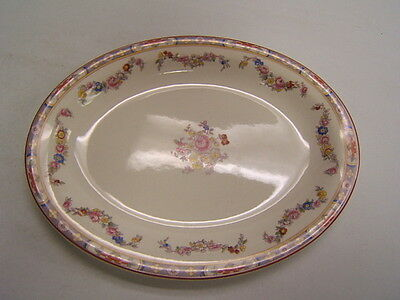 WS George China Derwood Small Oval Serving Platter