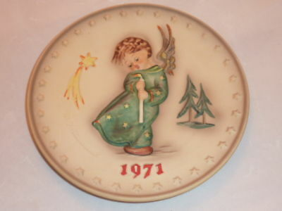 Hummel Plate 1971 1St In The Edition Mint Perfect
