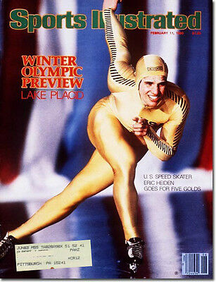 Sports Illustrated 2/11/80 Eric Heiden/Speed Skating/Lake Placid/Olympic Preview