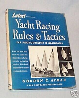 #BB. BOOK - 1962 YACHT RACING RULES and TACTICS