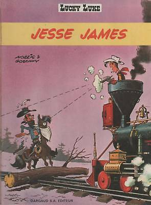 LUCKY LUKE - JESSE JAMES dargaud tome 4 ou 35 E.O. 1969