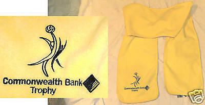 #hh. Commonwealth Bank Netball Trophy Scarf