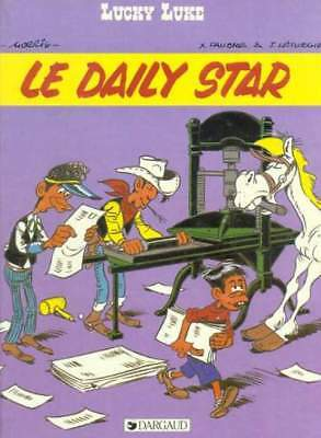 LUCKY LUKE - LE DAILY STAR dargaud  E.O. 1984