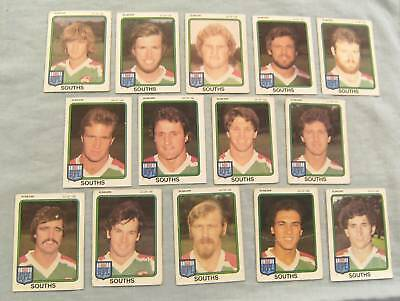 1981  Rugby League Cards - South Sydney Rabbitohs