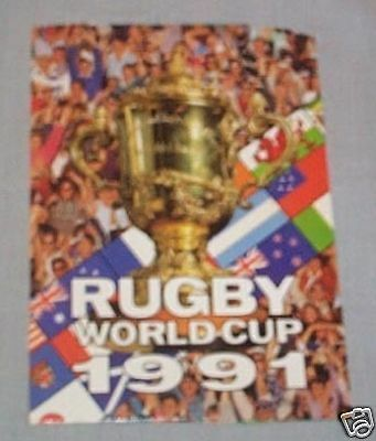 1991 Rugby Union  Cards Counter Display Box Lid
