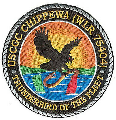 CGC CHIPPEWA thunderbird Tennessee W5047 USCG Coast Guard patch