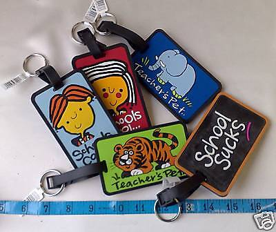 Childrens Kids School Bag (Luggage) Name Tag Labels