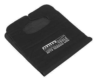 Sealey Black Heavy Duty Water Resistant Car/Van Front Seat Protector Cover CSC1
