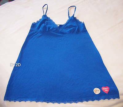 Private Property Ladies Blue Camisole Top Size 8 New