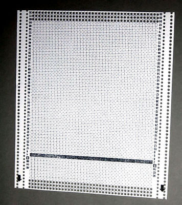Blank Punch Card for PASSAP Knitting Machine Spare Parts Accessories