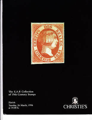 Christie's - Robson Lowe-The E.A.P. Collection of 19th Century Stamps