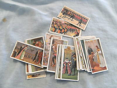 1913 Cigarette Cards - Set 50 Wills Historic Events