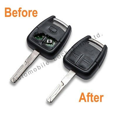 For Vauxhall Vectra Omega Signum 2 / 3 Button Remote Key Fob REPAIR SERVICE FIX