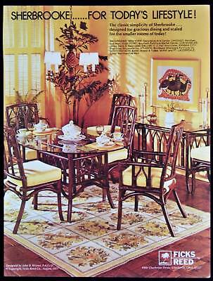 Sherbrooke Dining Room Furniture Magazine Print Ad