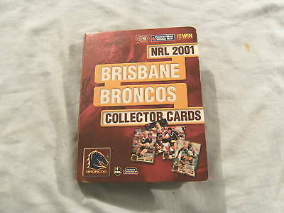 2001 Brisbane  Rugby League Cards - Autographs