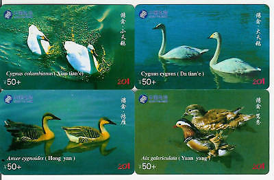 China - Cisnes, Patos - Swans, Ducks - 441-Tarjetas Telefonicas