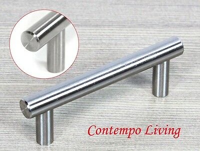 """Solid Stainless Steel  4"""" Kitchen Cabinet Hardware Bar Pull Handle"""