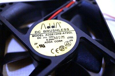 ADDA 80mm DC 12V FAN Dell HP Lenovo Compaq Gateway Acer Power Supply Replacement