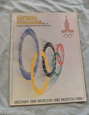 #xx. Moscow Olympic Booklet, Well Illustrated