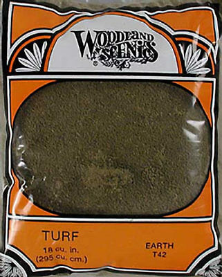 Woodland Scenics Fine Turf Earth WOOT42