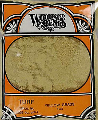Woodland Scenics Fine Turf Yellow Grass WOOT43