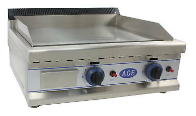 NEW ACE HEAVY DUTY LPG GAS GRIDDLE HOTPLATE 75cm bed