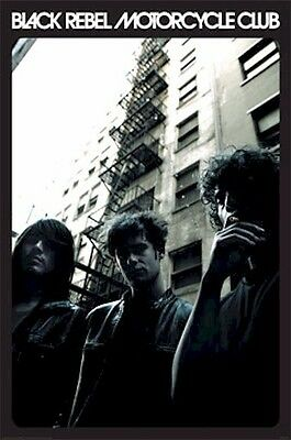 BLACK REBEL MOTORCYCLE CLUB ~ FIRE ESCAPE POSTER Music