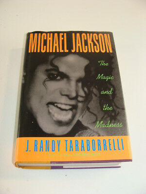 MICHAEL JACKSON The Magic and the Madness HB Book 1991