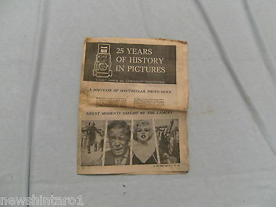#aa. Newspaper - 1966 Mirror, 25 Years Pictorial Liftout