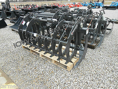 "Bradco 72"" Skid Steer Q/A Root Rake Grapple: ShipsFreeToSelectStates-SeeDetails"