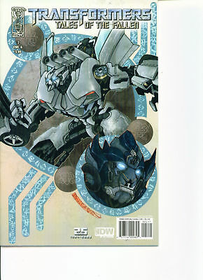 Transformers Tales Of The Fallen #2-A (NM)`09