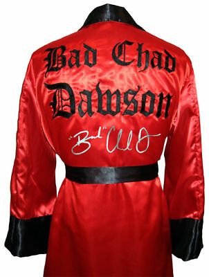 Chad Dawson Signed Boxing Robe With Exact Proof And Coa
