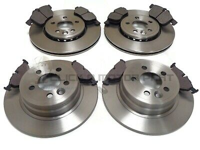 ROVER 75 2.0 CDT CDTi FRONT /& REAR DRILLED GROOVED BRAKE DISCS AND MINTEX PADS