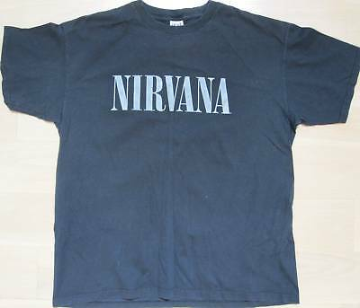 Nirvana - WITH THE LIGHTS OUT Promo T-Shirt - L/G - NM