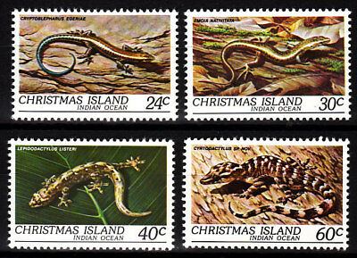 1981 Christmas Island Wildlife  MUH - Complete Set of 4 Stamps