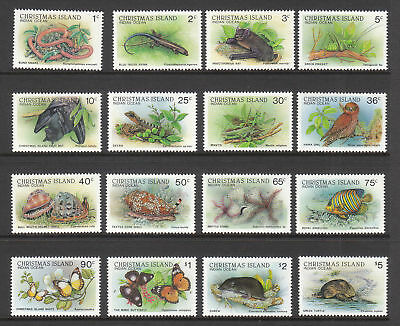 1987-88 Xmas Is Wildlife Definitives - MUH Complete Set