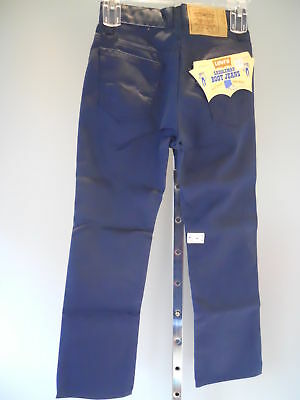 NoS ViNTaGe BiG E LeVi'S SaDDLeMaN BooT JeaNs BLue 25""