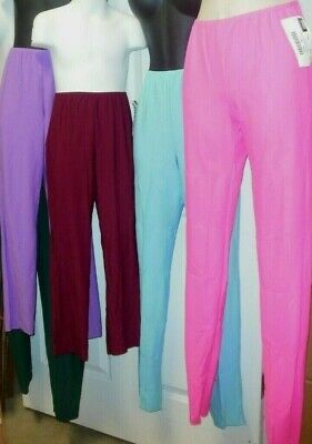 NEW SKINNY DANCE PANTS MATTE SPANDEX many Colors