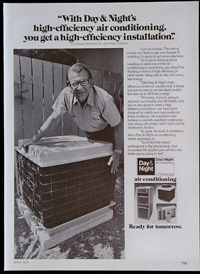 1976 Day & Night Central Air Conditioning Magazine Ad
