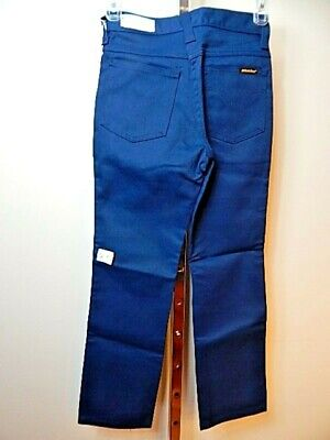 Nos DeadStock Vintage Dickies Trousers Blue Jeans Pants Slacks Youth Kids Boy 10