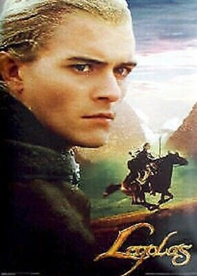 LORD OF THE RINGS ~ RETURN OF THE KING LEGOLAS RIDING 24x36 MOVIE POSTER