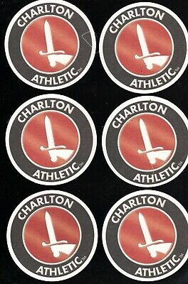 CHARLTON ATHLETIC The Addicks Pack of Official Beer Mats / Coasters FREE POST UK