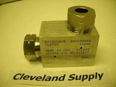 Autoclave Cl9900 Fitting Elbow High Pressure 60,000Psi