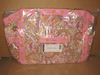 Longaberger Rare Sisters Get Away for the Day Truly fabric mint never used!
