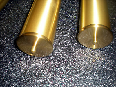 Weight Shells (2) - Grandmother Or Wall Brushed Brass