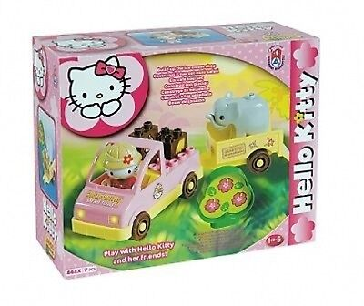 HELLO KITTY SAFARI COSTRUZIONI 7 PZ MINI-SET ZOO