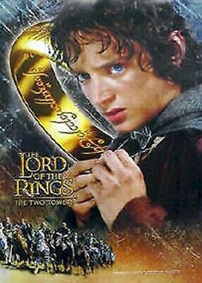 Lord Of Rings ~ Two Towers Frodo Ring Movie Poster